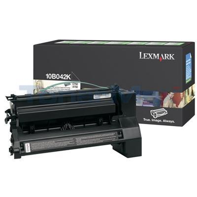 LEXMARK OPTRA C750 RP TONER BLACK 15K